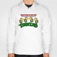 teenage mutant ninja turtles Hoodies featuring Teenage Mutant Ninja Turtles Mario by tshirtsz