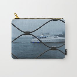 Ship Silently Passing By Carry-All Pouch