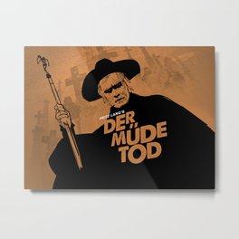 Der müde Tod Metal Print