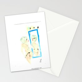 Back Stage Stationery Cards