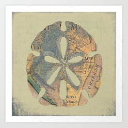 Chatham Sand Dollar Art Print