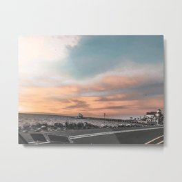 Sunset Series - The Outer Banks of North Carolina - Duck, NC (1 of 3) Metal Print