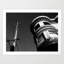 Building in San Francisco Art Print