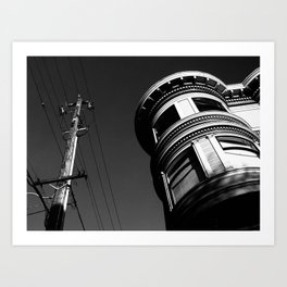 Building in San Francisco Art Print
