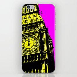 Big Ben - In all her coloured glory... iPhone Skin