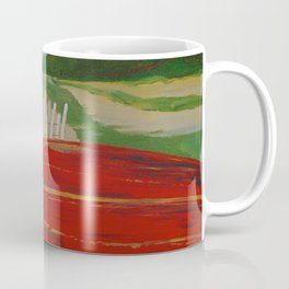 Red Bottom Boat Coffee Mug