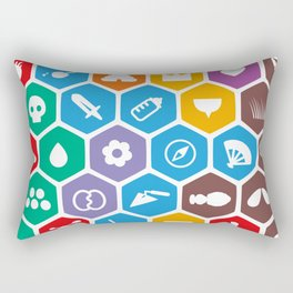 Periodic Table of Beekeeping Rectangular Pillow