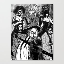 THE QUEST ADDICTS Canvas Print