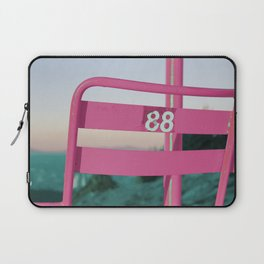 Pop Art 80's Chair Lift Laptop Sleeve