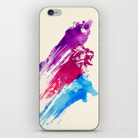 Wild colours iPhone & iPod Skin