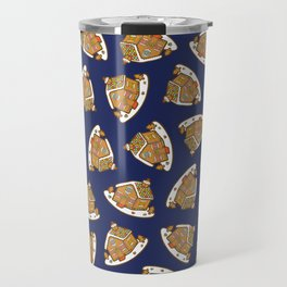 Gingerbread House Pattern - Christmas Eve Travel Mug