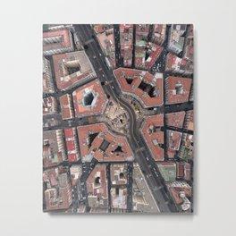 Pentagonal urbanism Metal Print