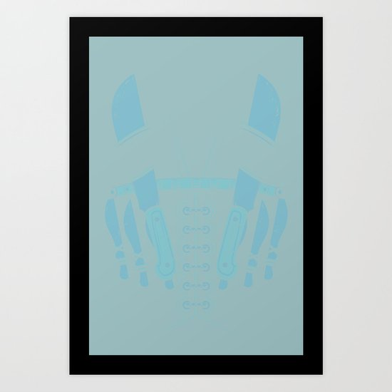 The Bad Guy Art Print