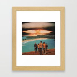 Eniwetok Test Viewing Platform Framed Art Print