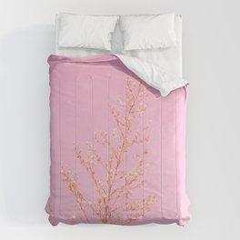 Seeds of Weeds in Pink Comforters