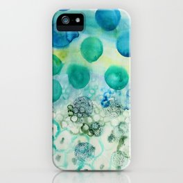 Circles iPhone Case