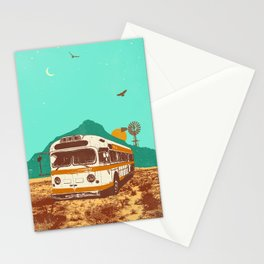 DESERT BUS Stationery Cards