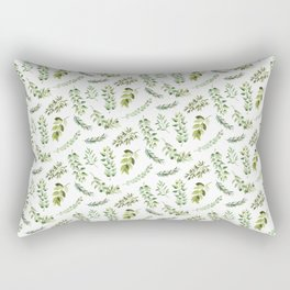Forest in the Fall Pattern Rectangular Pillow