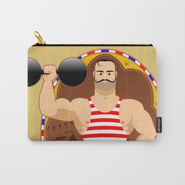 Circus strongman Carry-All Pouch