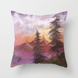 Sunsetrip Throw Pillow