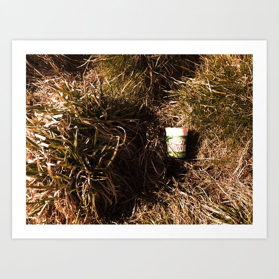 Consume/Dispose Art Print