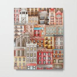 Brooklyn, New York Metal Print