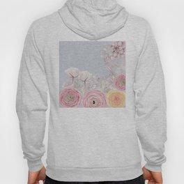 Floral Spring Greatings - Pastel Flowers Hoody