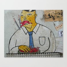 lan kwai fong Canvas Print