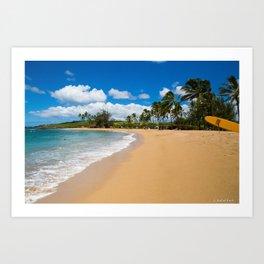 Kauai Beach Art Print