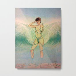Be My Beach Metal Print