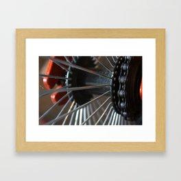 Little Wheels Framed Art Print