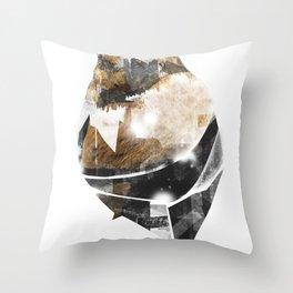 broken creature Throw Pillow