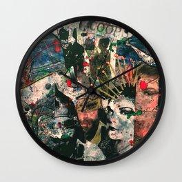 Hidden Pieces Wall Clock