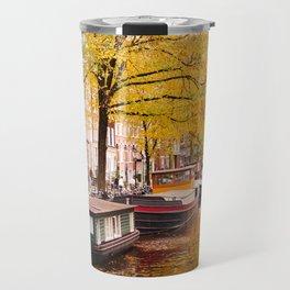 AMSTERDAM / Autumn Reflection Travel Mug