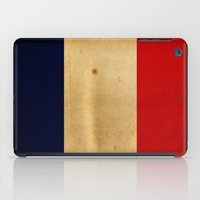 france iPad Cases featuring France by NicoWriter