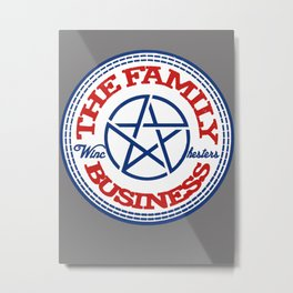 Family Business Metal Print