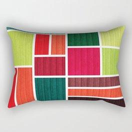 Mondrian Bauhaus Pattern #07 Rectangular Pillow