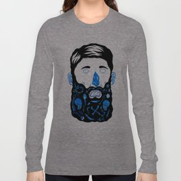 Pirate Beard Long Sleeve T-shirt