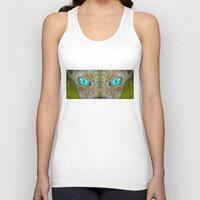 sphynx Tank Tops featuring Sphynx by BruceStanfieldArtist.DarkSide