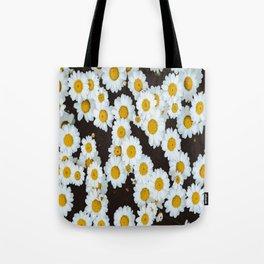 Daisy Flower Design Tote Bag