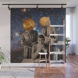"""""""Men Are from Mars, Women Are from Venus"""" Wall Mural"""