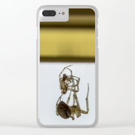 Spider Trap Clear iPhone Case