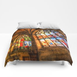 Evening Sun Cathedral Comforters