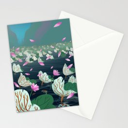 A Sudden Breeze Stationery Cards