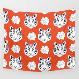 Auburn orange Wall Tapestry