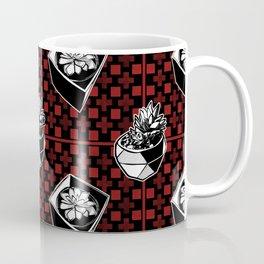 Striking Succulent Fashion Print Coffee Mug