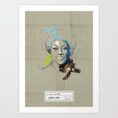 Marlena Shaw Art Print