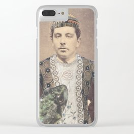 Salvaged Relatives (06) Clear iPhone Case