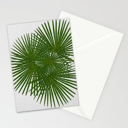Fan Palm, Tropical Decor Stationery Cards