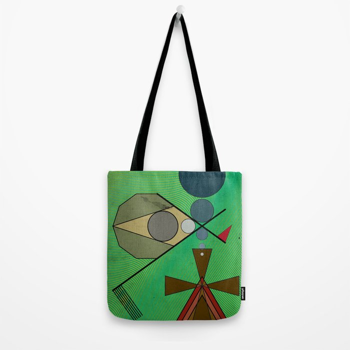 Crazy Golf Abstract Putting Tote Bag